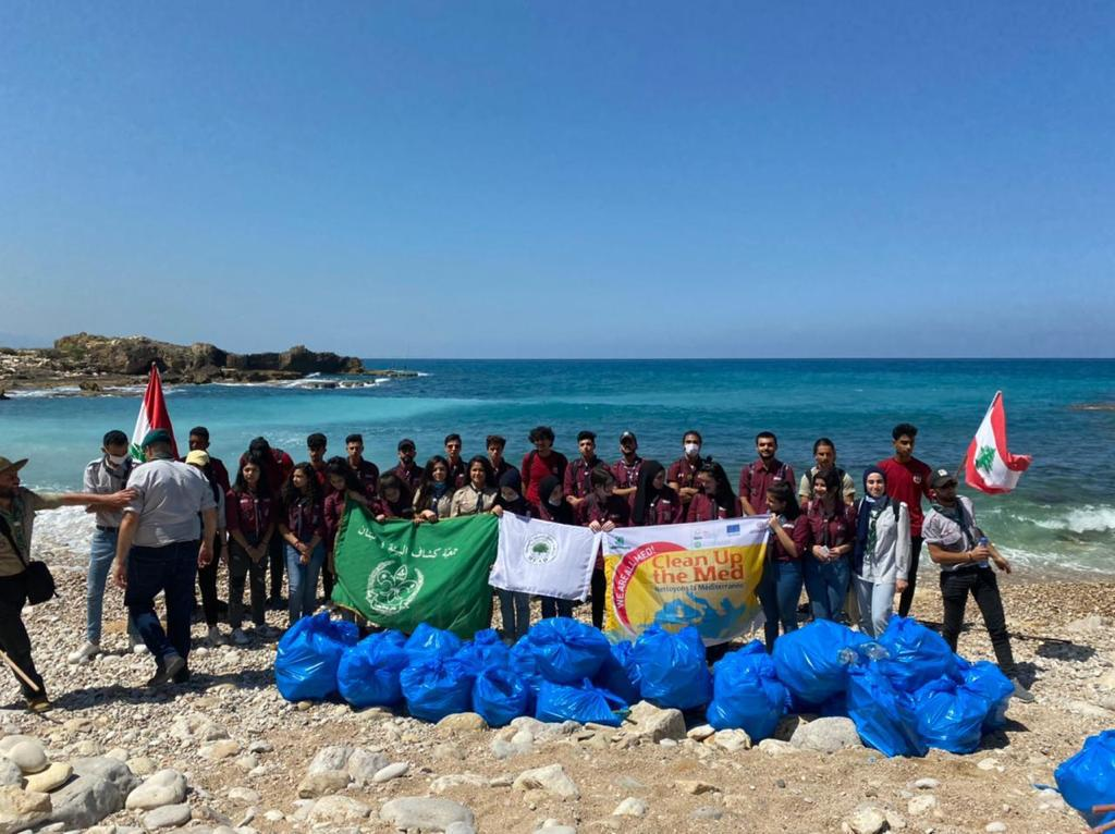 Lebanese beach clean-up campaign on World Environment Day