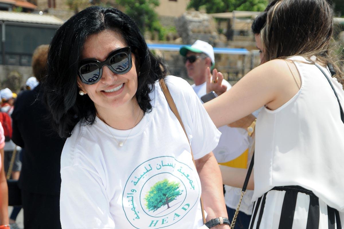 رئيسة جمعية انسان للبيئة والتنمية المهندسة ماري تريز مرهج سيف تحذر من معمل اده