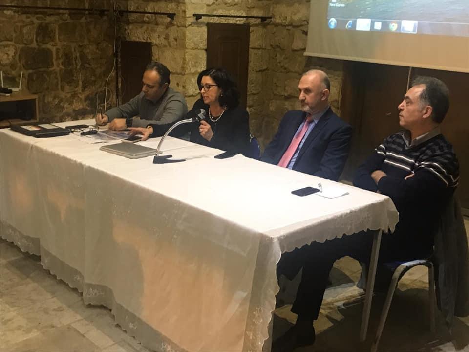 لقاء حول «تقييم الخطة العشرية للمياه في لبنان» في المركز الثقافي البلدي في جبيل